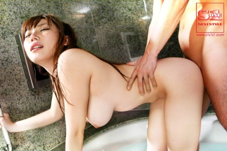 Jカップ爆乳の上原保奈美 (13)