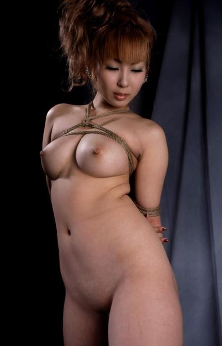 服を脱がされて、縛られてる女性たち (16)