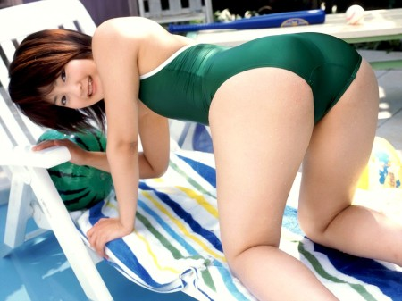 競泳水着やスクール水着ってエロい (12)