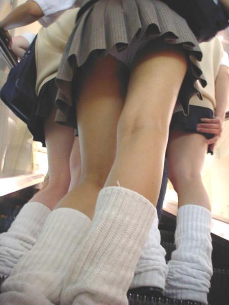 女子校生のスカートから、パンツが見えちゃった (3)