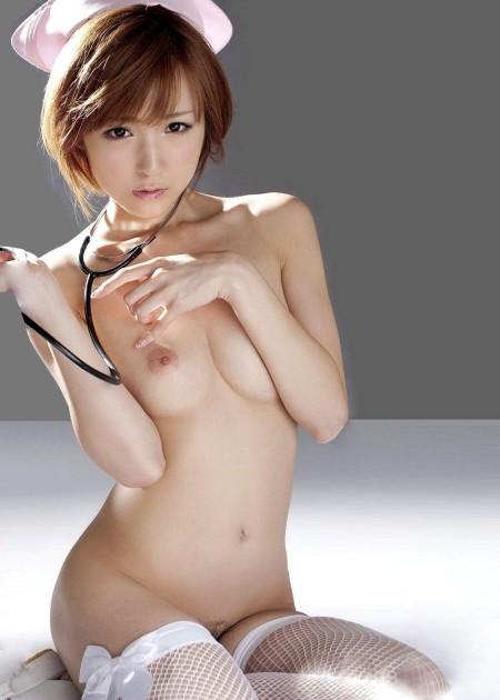 ナース服を脱いで、エロい診察をして欲しい (18)