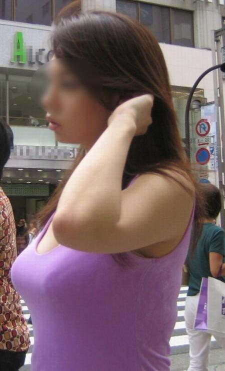 着衣巨乳の素人女性 (7)