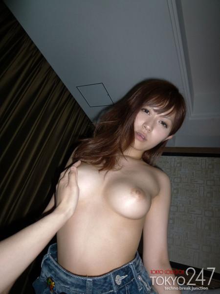 ギャルっぽい美巨乳娘の、さとう遥希 (14)