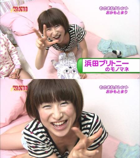アイドルたちが胸チラ・パンチラ (14)
