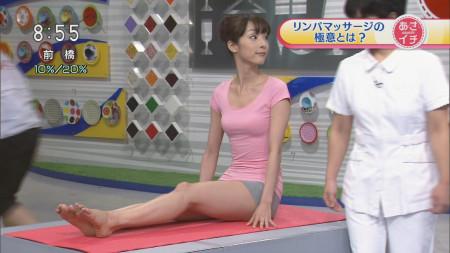 テレビで放送された胸チラやパンチラ (17)