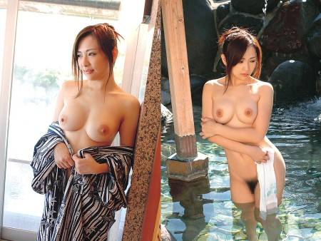 入浴中の女性 (16)