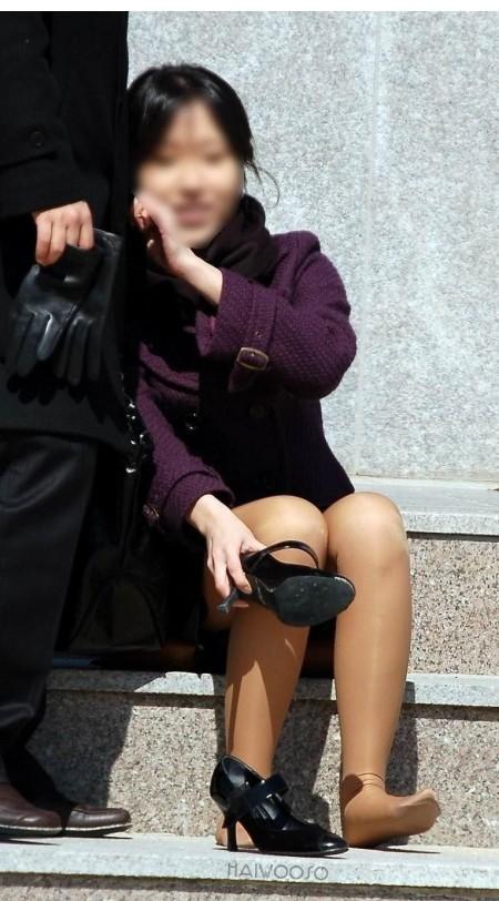 パンチラした素人女性 (12)