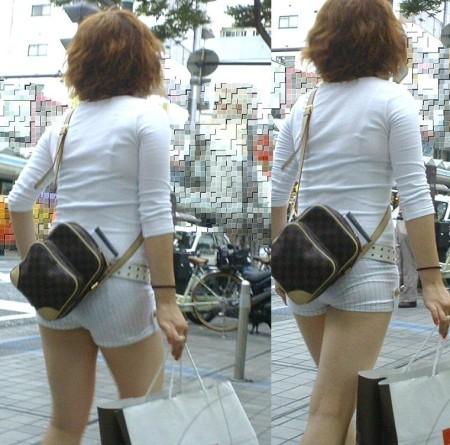 透けパン素人娘 (7)
