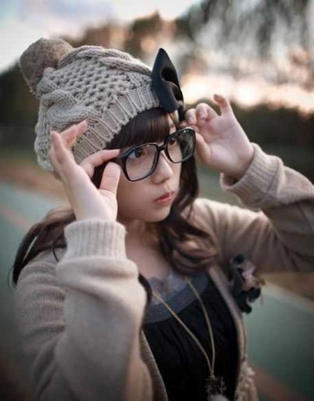 眼鏡をかけた女性たち (6)