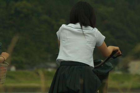 JKの透けブラ (4)
