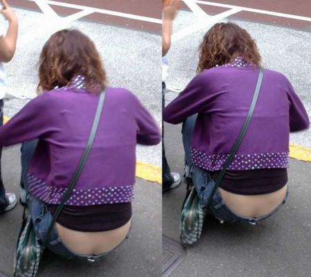パンツや尻が見えた (9)