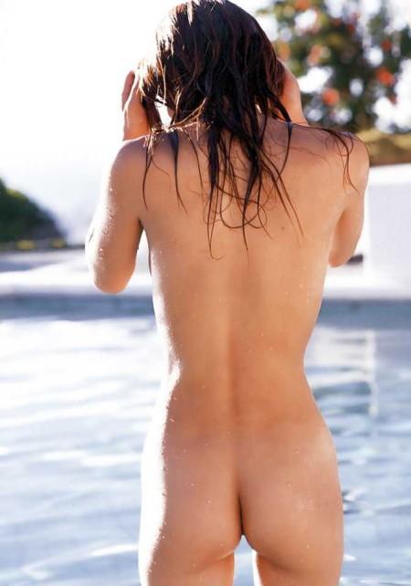 均整のとれた体の、美竹涼子 (17)