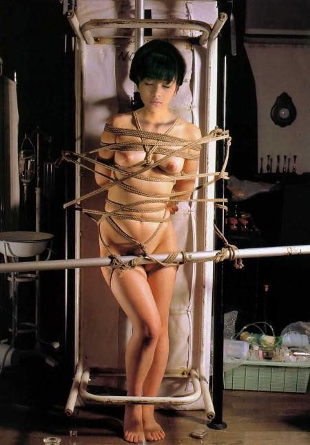 裸の女性を縛る (19)