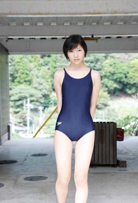 可愛いスクール水着 (14)