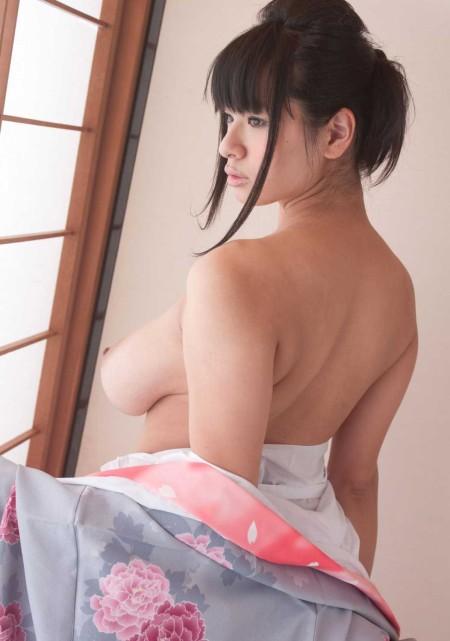 着物でセクシー (5)