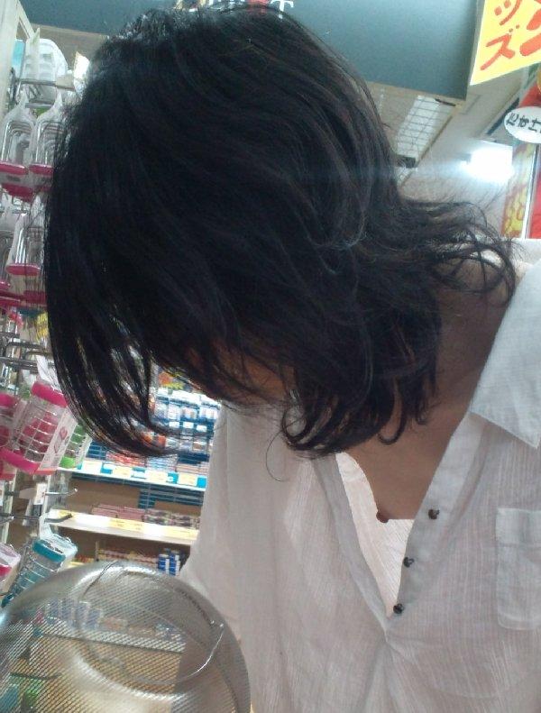 エロい胸チラ (1)