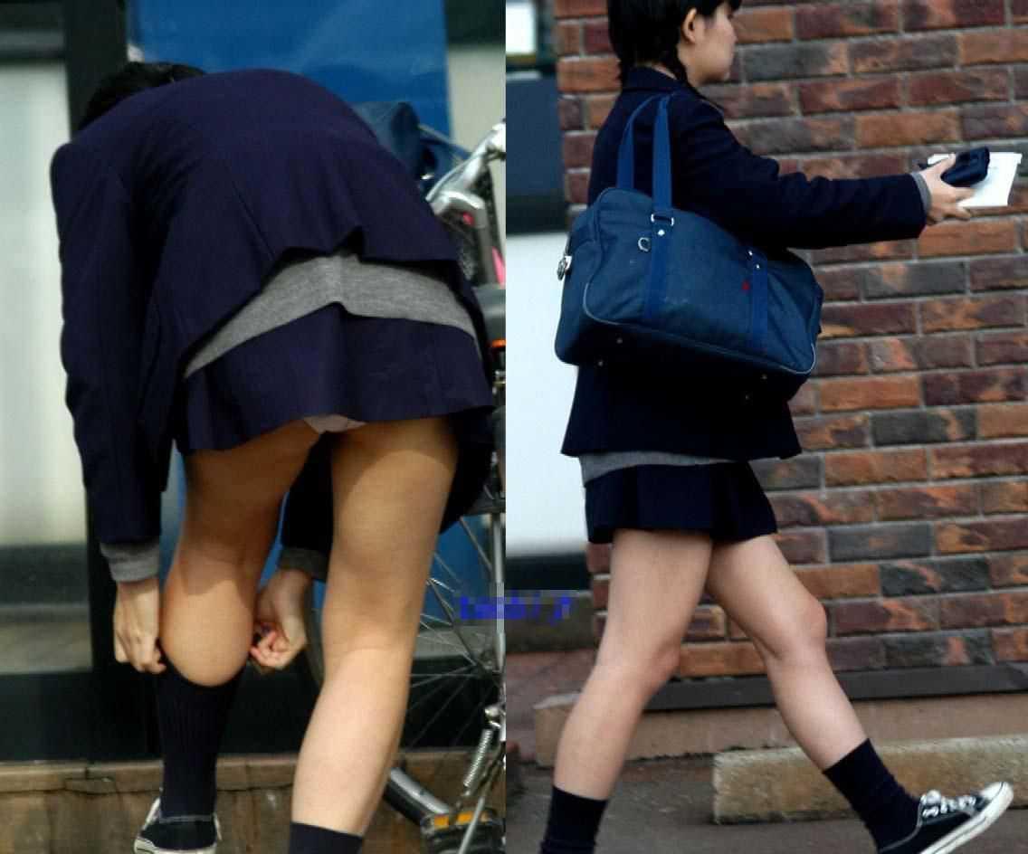 女子校生のパンツ (18)
