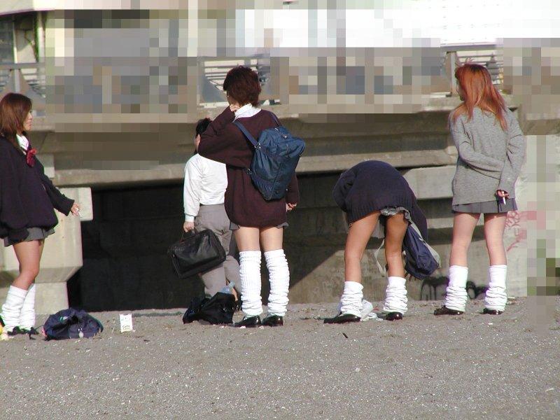 女子校生のパンツ (5)