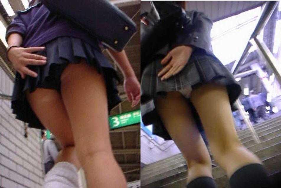 女子校生のパンツ (8)