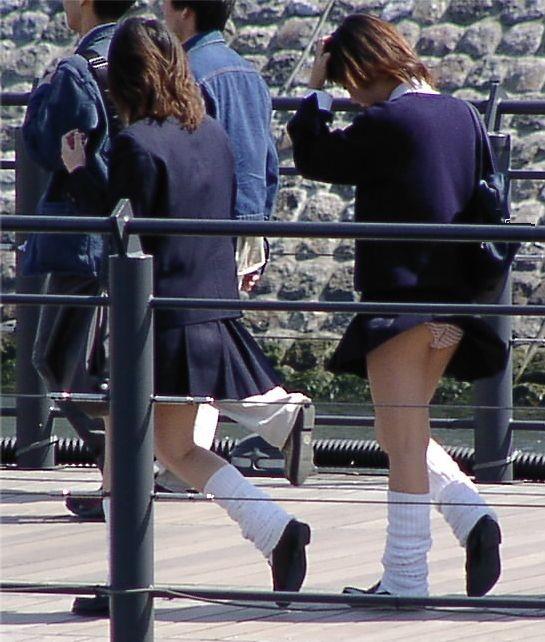 女子校生のパンツ (10)