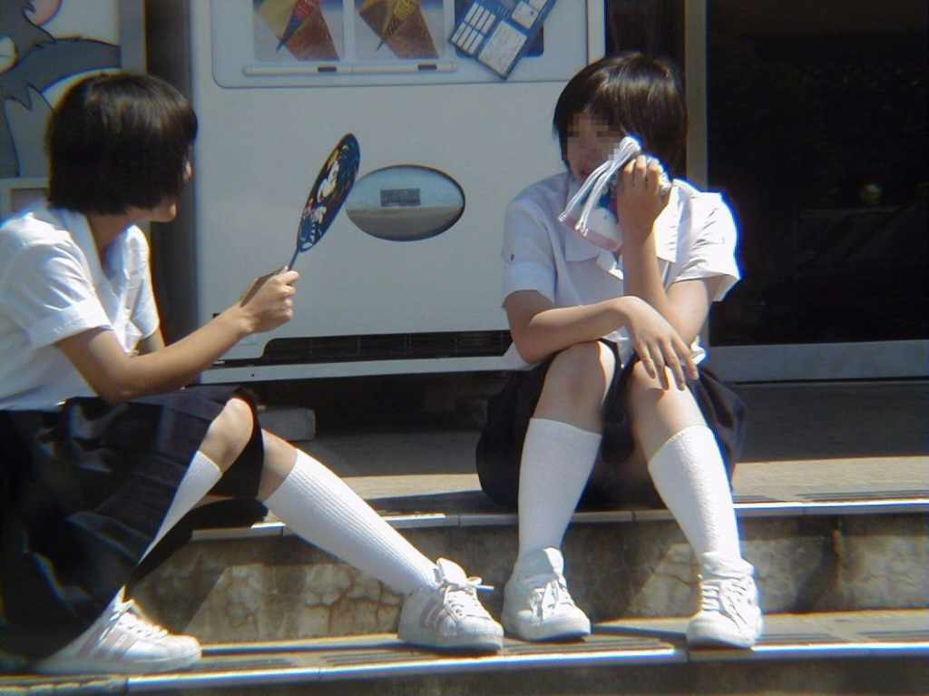 女子校生のパンツ (12)