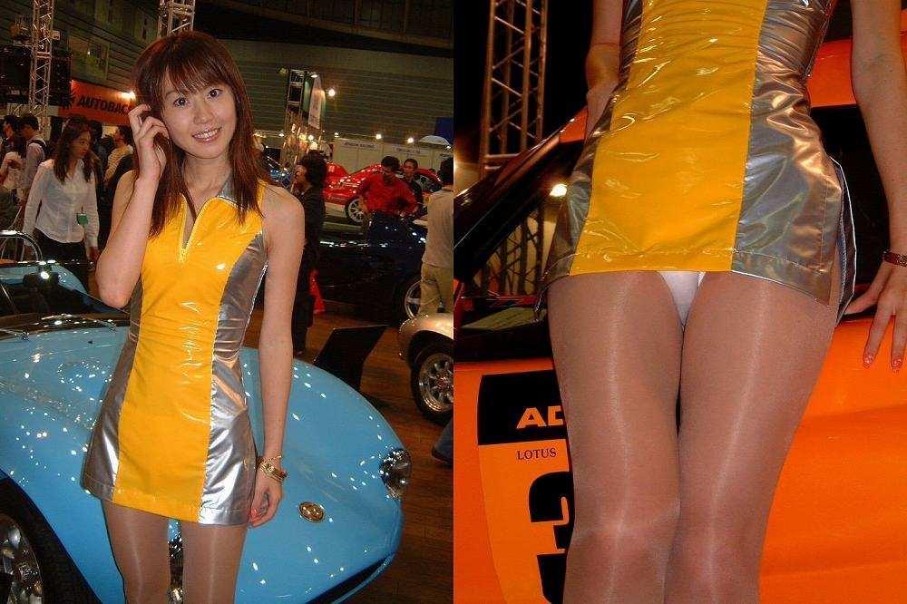 セクシー衣装のコンパニオン (6)