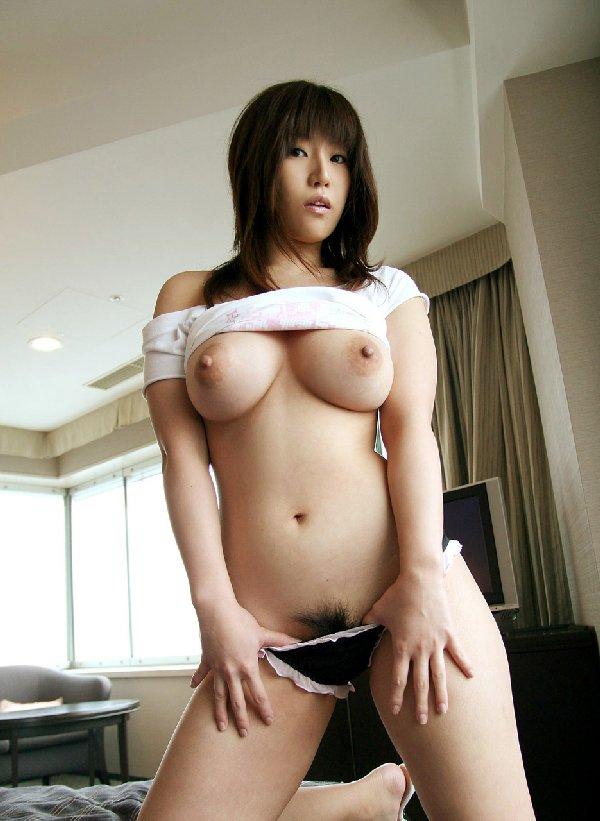 陰毛がフサフサ (6)