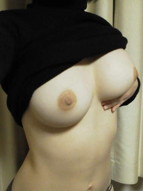 裸体を写メする (4)