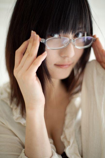 眼鏡っ子がエッチだった (12)