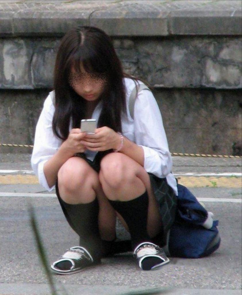 女子高生の下着 (1)