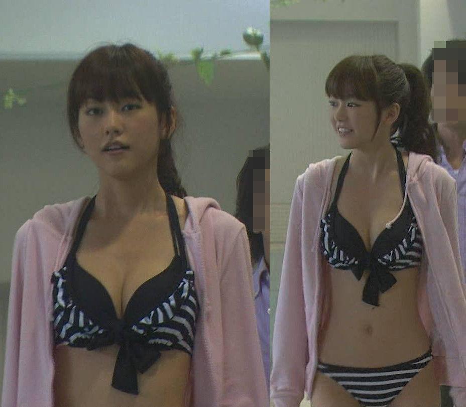 ガリ巨乳の、桐谷美玲 (19)