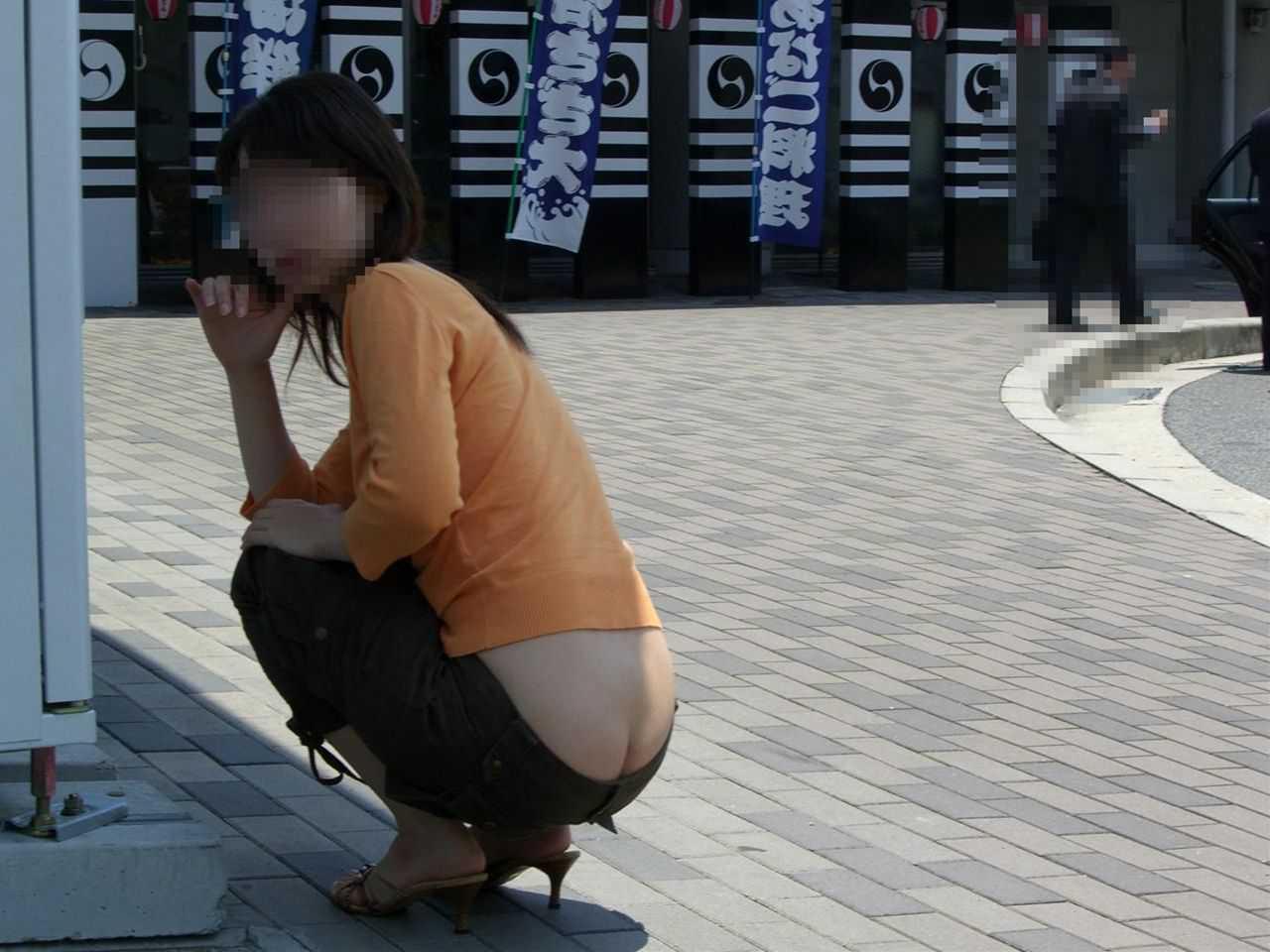 下着や尻が見えてる (8)