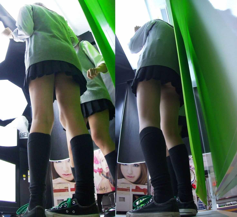 制服JKとパンティー (12)