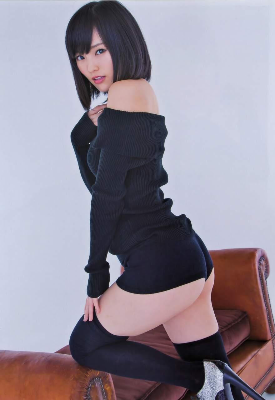 後ろ姿のケツ (20)