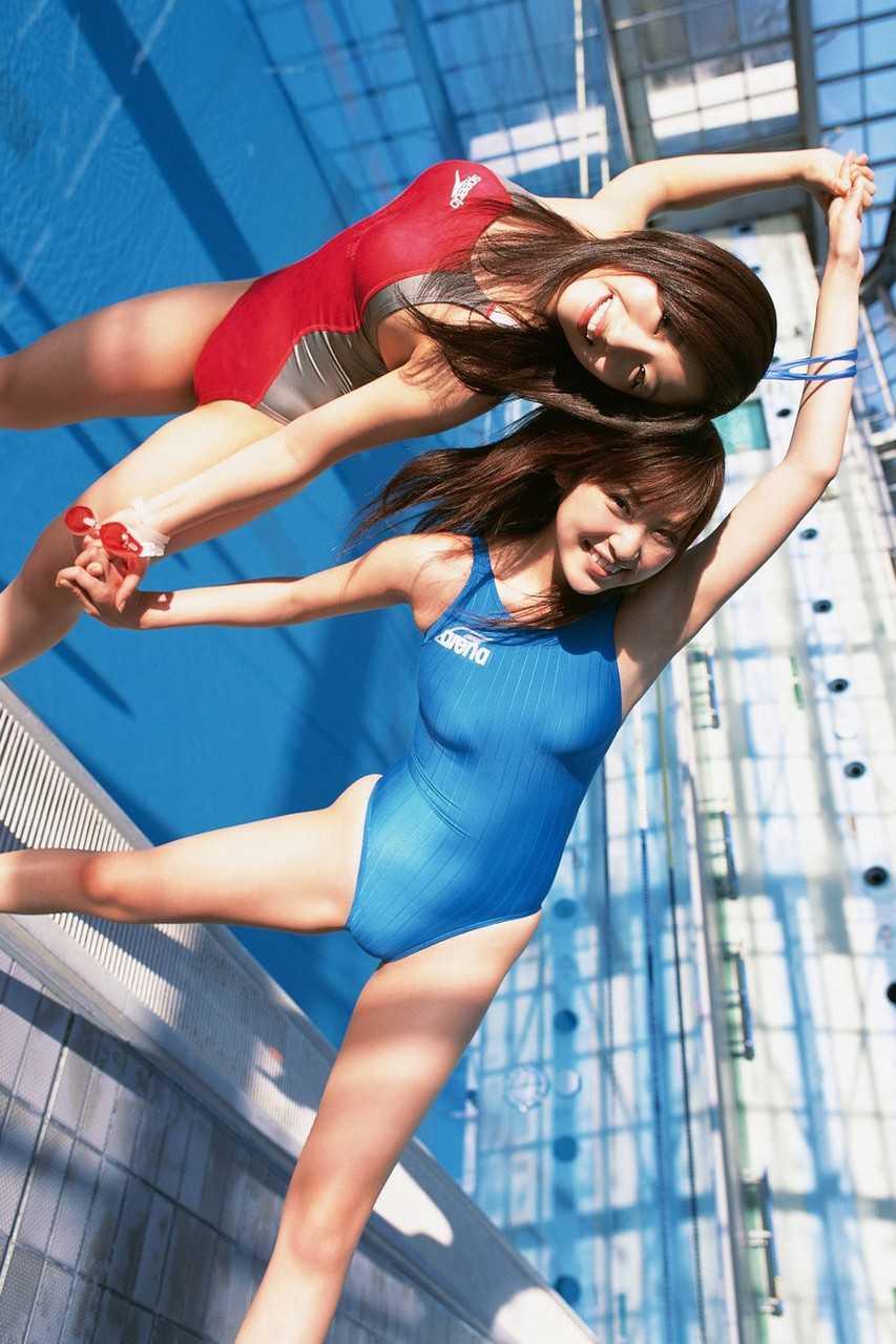 競泳水着のライン (10)