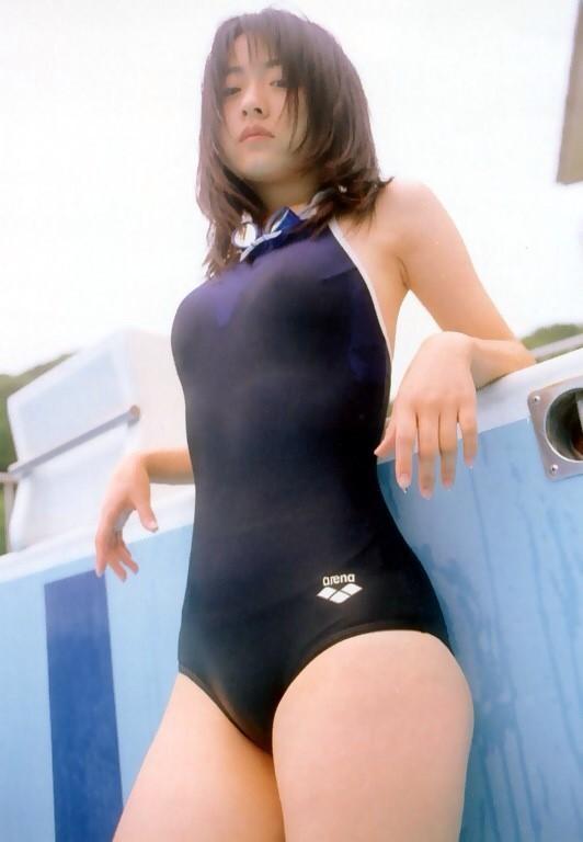 競泳水着のライン (3)