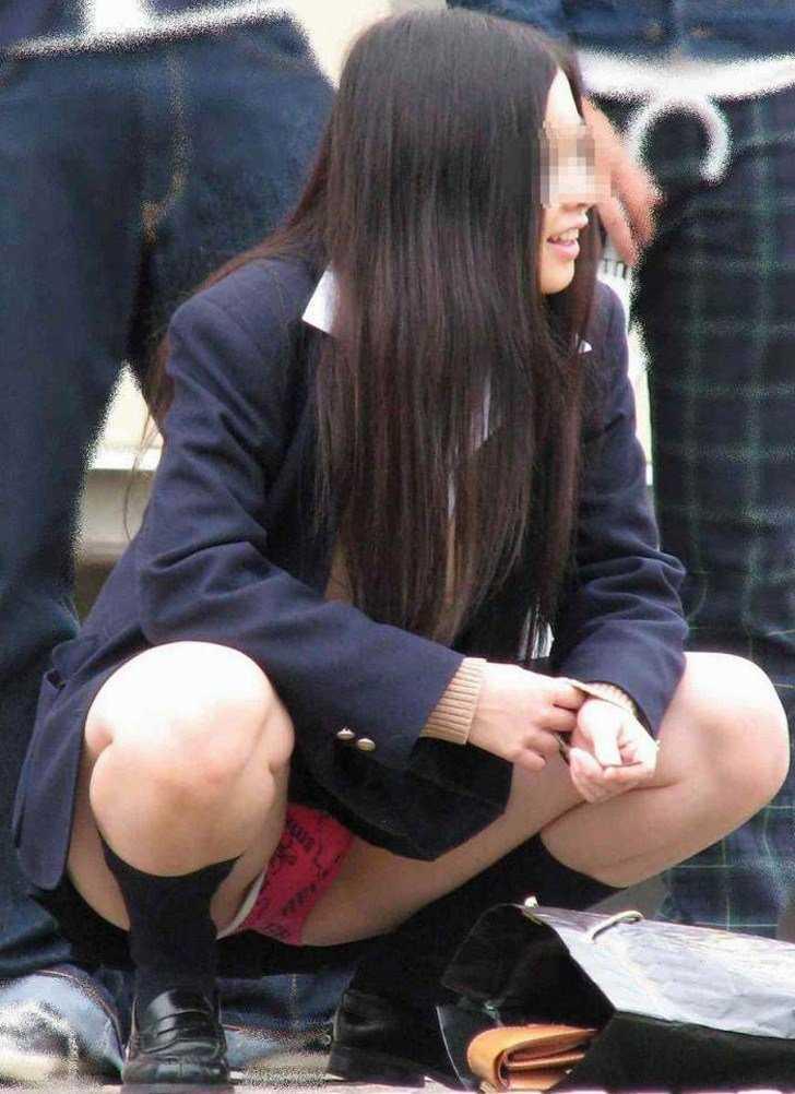 女子高生のパンティー (17)