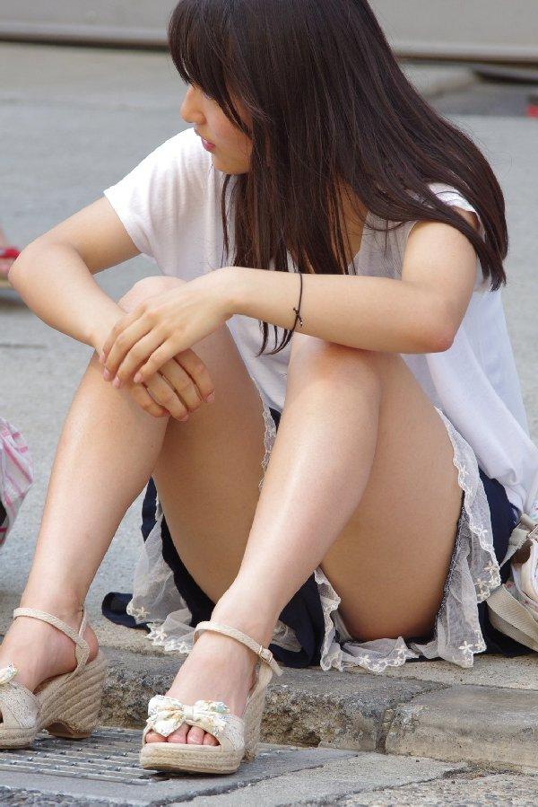 しゃがみパンティー (20)