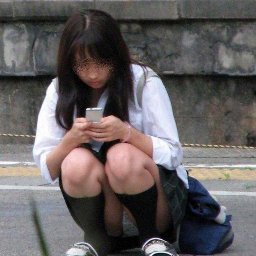女子高生パンティー (20)