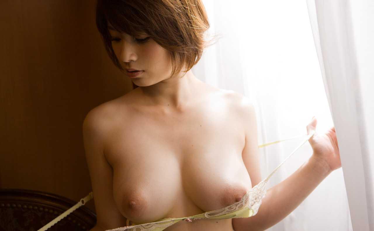 デカパイの美乳、奥田咲 (5)