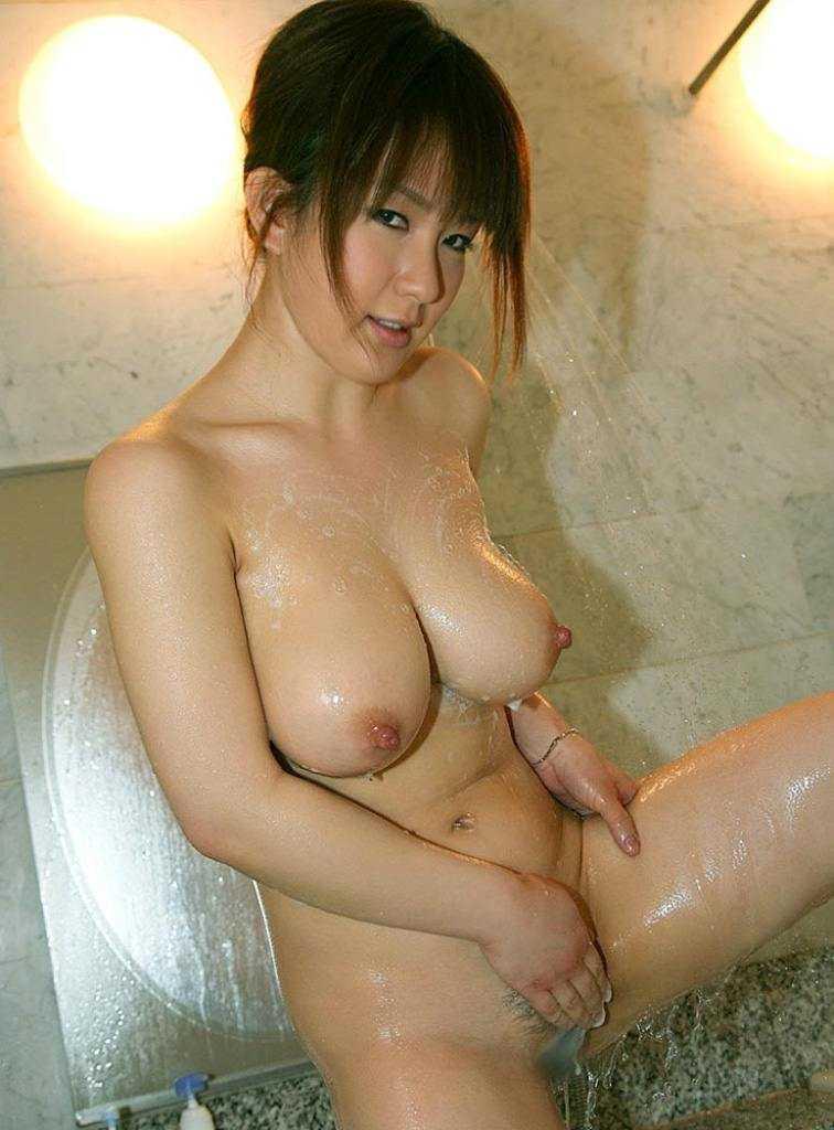 お風呂で濡れる (15)