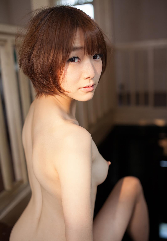 可愛い美乳少女、涼川絢音 (15)