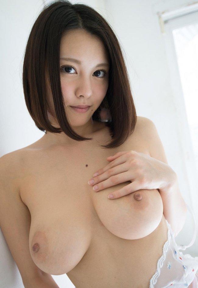 綺麗な顔と胸の、松岡ちな (9)