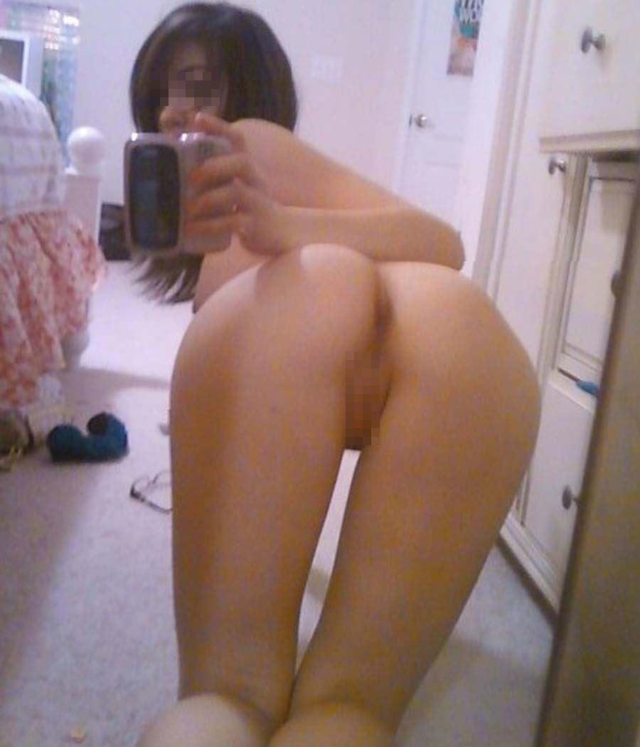 自分で撮った裸体 (8)