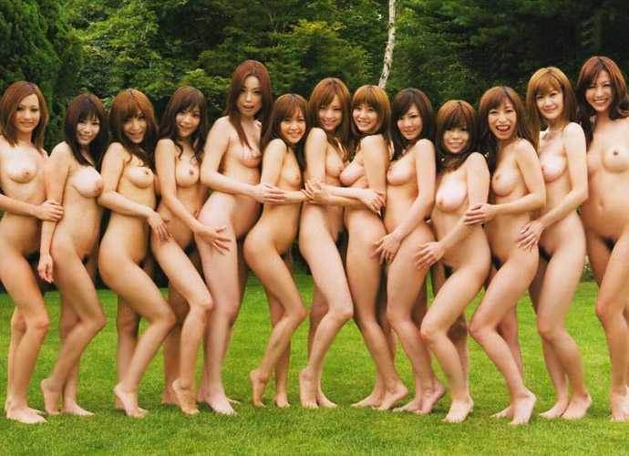 素っ裸が集まった (19)