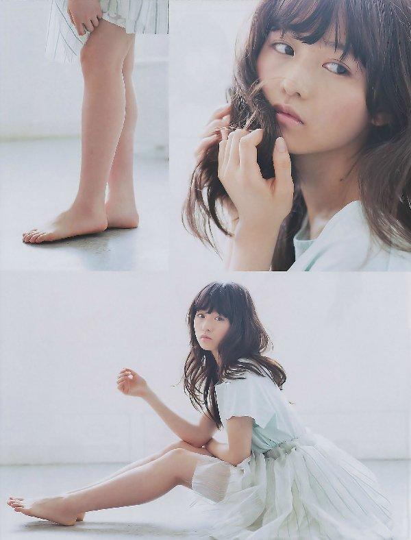 可愛い子の生足 (8)