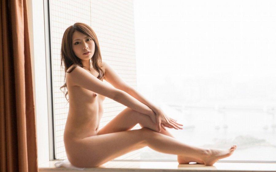微乳な美女、桜井あゆ (10)