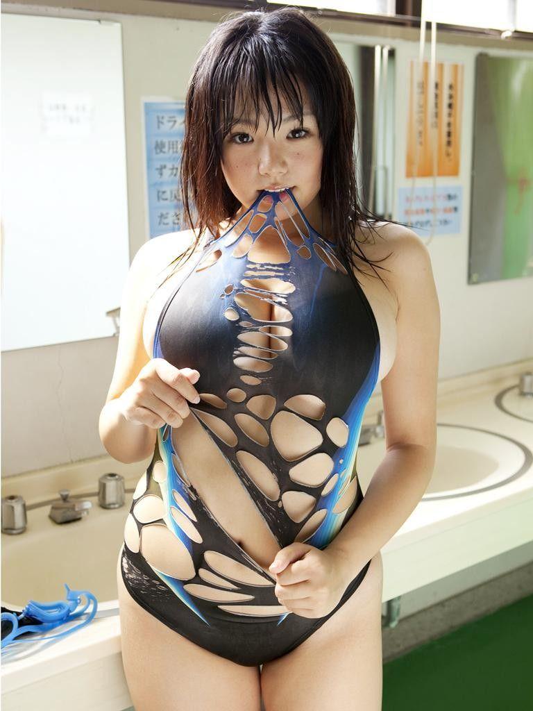 競泳用のセクシー水着 (20)