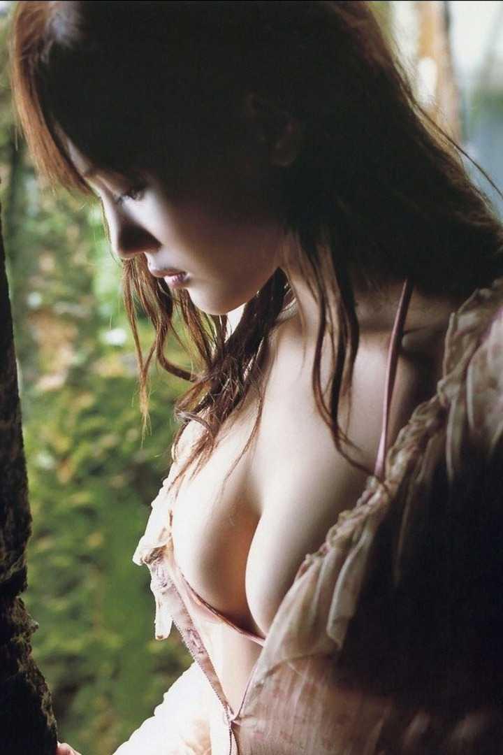 大きな乳房の谷間 (13)