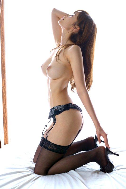 アラフォーの美しい熟女、林ゆな (5)